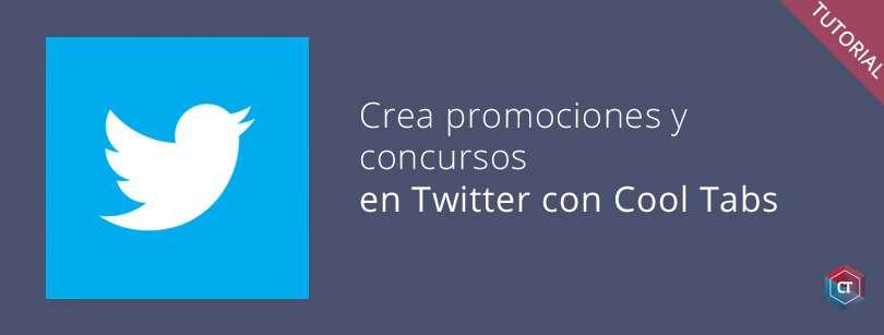 Crea concursos y promociones en Twitter