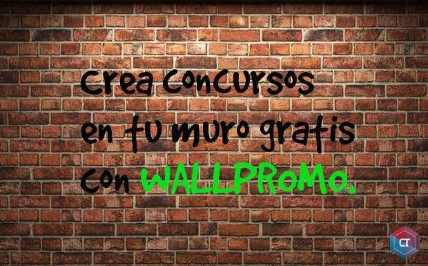 Crea concursos en tu muro gratis con WallPromo