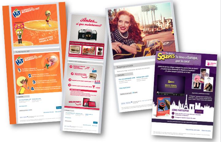 Ejemplos de promociones que puedes crear con Cool Tabs