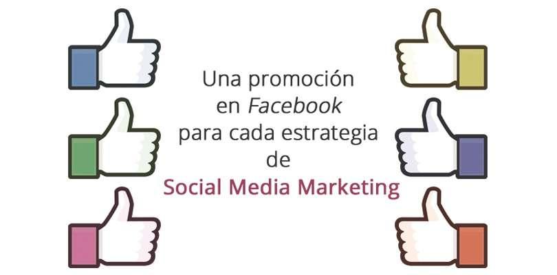 Promociones para estrategias en Facebook