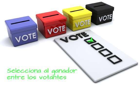 Selecciona a los ganadores de tu promoción entre los votantes