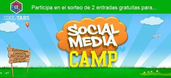 Participa en el sorteo de 2 entradas para el Social Media Camp