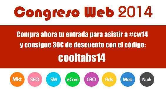 Consigue 30 euros de descuento en tu entrada para el Congreso Web de Zaragoza