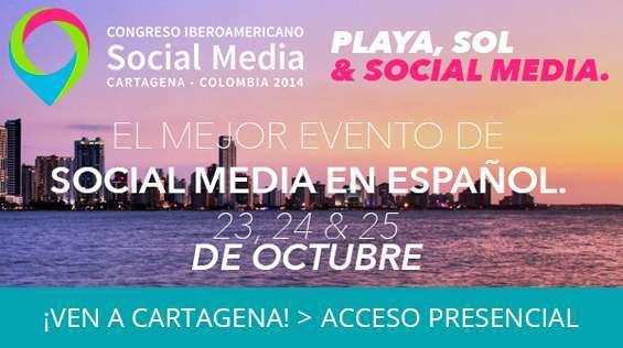 Ven al 3er Congreso Iberoamericano de Social Media
