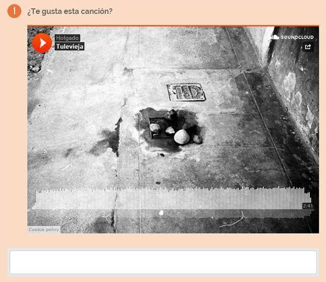 Pregunta sobre una canción de Soundcloud