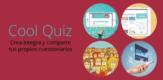 Cool Quiz: Crea cuestionarios, encuestas o tests de personalidad para tu web