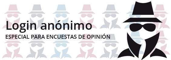 Login anónimo: Especial para encuestas de opinión