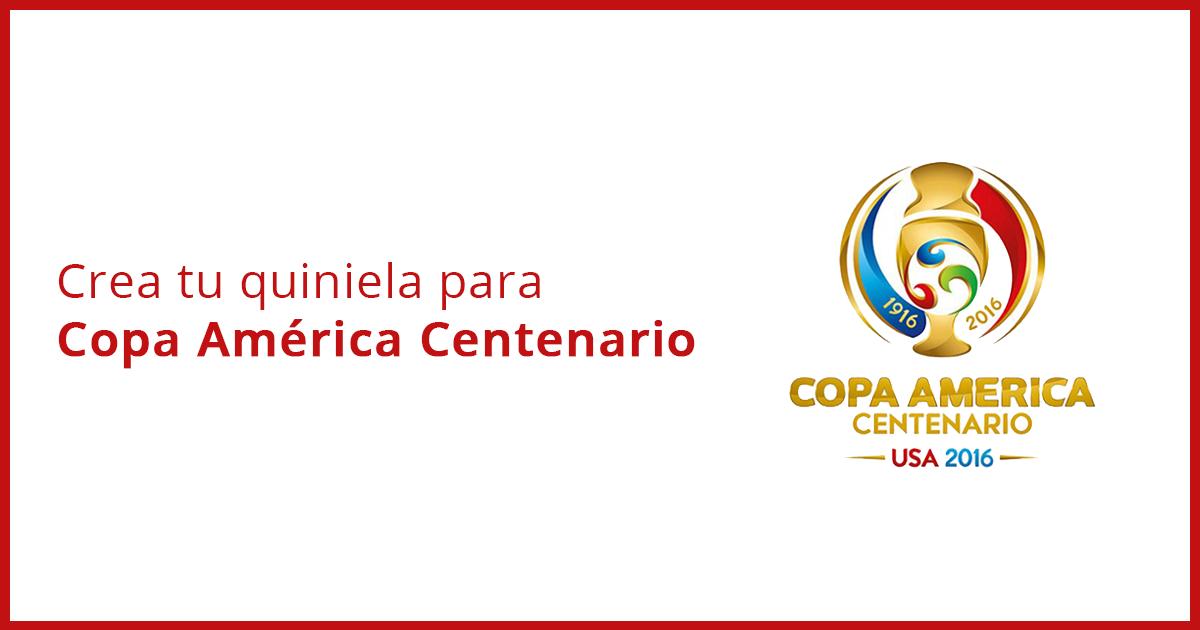 Quiniela Copa América Centenario