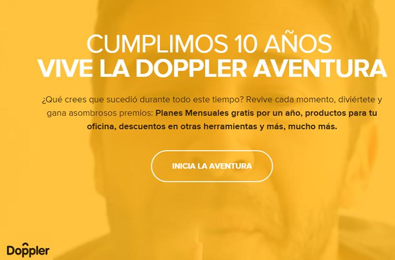 Doppler celebra su décimo aniversario